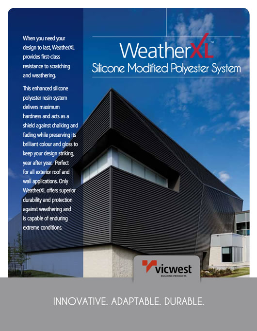 Weatherxl®硅胶改性聚酯系统